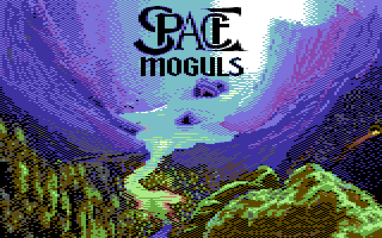Space Moguls title screen